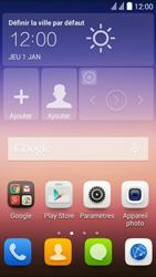Huawei Ascend Y625 - Messagerie vocale - Configuration manuelle - Étape 2