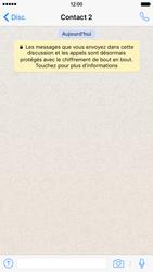 Apple iPhone 6 iOS 9 - WhatsApp - Supprimer les messages instantanés - Étape 11