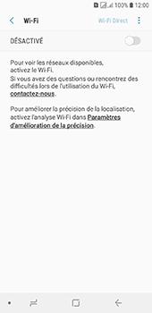 Samsung Galaxy J6 - Internet et connexion - Accéder au réseau Wi-Fi - Étape 6