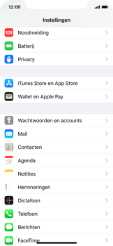 Apple iPhone X - iOS 13 - E-mail - Handmatig Instellen - Stap 3