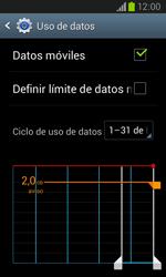 Samsung i8260 Galaxy Core - Internet - Ver uso de datos - Paso 5