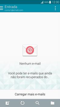 Samsung N910F Galaxy Note 4 - Email - Como configurar seu celular para receber e enviar e-mails - Etapa 18