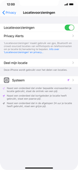 Apple iphone-xs-max-met-ios-13-model-a1921 - Beveiliging en ouderlijk toezicht - Zoek mijn iPhone inschakelen - Stap 6