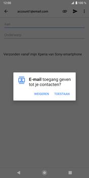 Sony Xperia XZ3 - E-mail - e-mail versturen - Stap 4