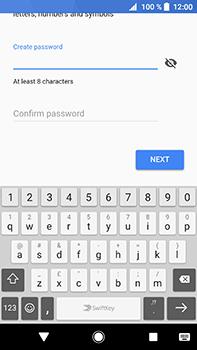 Sony Xperia XA2 Ultra - Applications - Create an account - Step 12