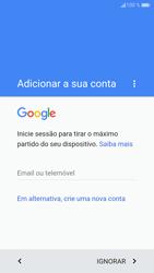 Huawei P9 Lite - Android Nougat - Primeiros passos - Como ligar o telemóvel pela primeira vez -  11