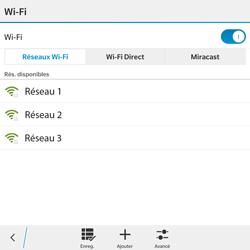 BlackBerry Passport - WiFi et Bluetooth - Configuration manuelle - Étape 7