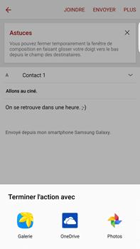 Samsung G928F Galaxy S6 edge+ - E-mail - envoyer un e-mail - Étape 11