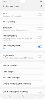 Samsung Galaxy A70 - Internet - Disable data roaming - Step 5