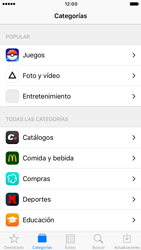 Apple iPhone 6 iOS 10 - Aplicaciones - Descargar aplicaciones - Paso 5