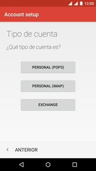 Motorola Moto X Play - E-mail - Configurar correo electrónico - Paso 12