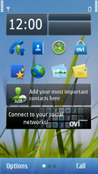Nokia N8-00 - Voicemail - Manual configuration - Step 1