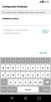 LG G6 - E-mail - Configurar Outlook.com - Paso 11