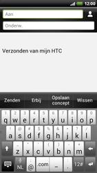 HTC Z715e Sensation XE - OS 4 ICS - E-mail - hoe te versturen - Stap 6