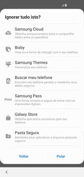 Samsung Galaxy S10 - Primeiros passos - Como ativar seu aparelho - Etapa 19