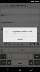 Sony Xperia M2 - E-mail - Configurar correo electrónico - Paso 11