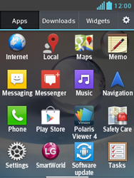 LG E430 Optimus L3 II - Voicemail - Manual configuration - Step 3