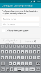 Samsung G900F Galaxy S5 - E-mail - Configuration manuelle - Étape 6