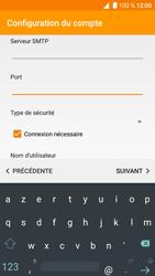 Alcatel Shine Lite - E-mail - Configuration manuelle - Étape 12