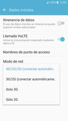 Samsung Galaxy S7 - Red - Seleccionar el tipo de red - Paso 6
