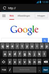 Acer Liquid Z3 - Internet - Hoe te internetten - Stap 11