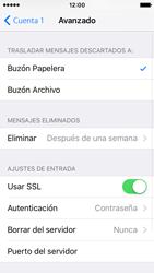 Apple iPhone SE - E-mail - Configurar correo electrónico - Paso 22