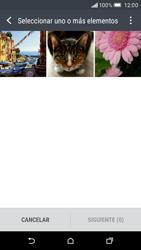 HTC One M9 - Bluetooth - Transferir archivos a través de Bluetooth - Paso 7