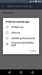 Sony Xperia X Performance (F8131) - Network - Change networkmode - Step 8