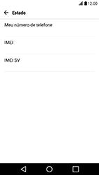 LG X Power - Primeiros passos - Como encontrar o número de IMEI do seu aparelho - Etapa 6