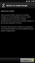 Sony Xpéria S - Premiers pas - Créer un compte - Étape 9