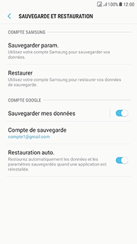 Samsung Galaxy J7 (2017) - Device maintenance - Back up - Étape 11