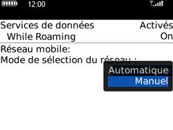 BlackBerry 8520 Curve - Réseau - Utilisation à l