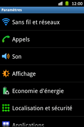 Samsung S6500D Galaxy Mini 2 - Wifi - configuration manuelle - Étape 3