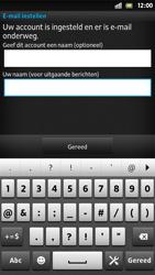 Sony LT26i Xperia S - E-mail - e-mail instellen: POP3 - Stap 16