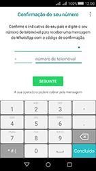 Huawei Y5 II - Aplicações - Como configurar o WhatsApp -  6