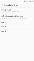 Samsung Galaxy A3 (2017) (A320) - Red - Seleccionar una red - Paso 7