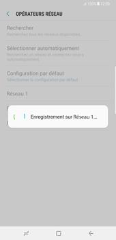 Samsung Galaxy Note 8 - Réseau - Sélection manuelle du réseau - Étape 10