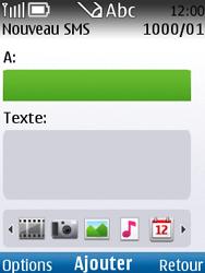 Nokia C2-01 - MMS - envoi d'images - Étape 5