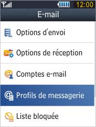 Samsung B3410 Star Qwerty - E-mail - Configurer l