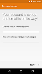 Crosscall Action X3 - E-mail - Manual configuration POP3 with SMTP verification - Step 24