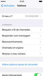 Apple iPhone 5s iOS 10 - Chamadas - Como bloquear chamadas de um número -  4