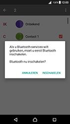 Sony xperia-x-f5121-android-nougat - Contacten en data - Contacten overzetten via Bluetooth - Stap 10