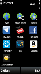 Nokia X6-00 - Internet - Internet browsing - Step 3