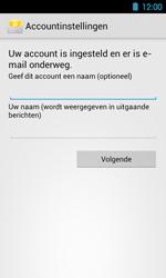 Acer Liquid Glow E330 - E-mail - Handmatig instellen - Stap 14