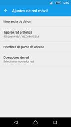 Sony Xperia Z5 - Red - Seleccionar el tipo de red - Paso 6