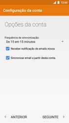 NOS NOVU II - Email - Configurar a conta de Email -  20