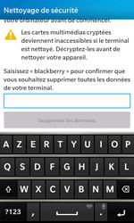 BlackBerry Z10 - Aller plus loin - Restaurer les paramètres d'usines - Étape 6