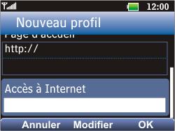 LG C360 Golf - Internet - Configuration manuelle - Étape 20