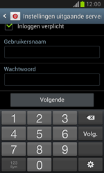 Samsung Galaxy Core (I8260) - E-mail - Account instellen (POP3 met SMTP-verificatie) - Stap 15