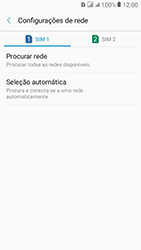 Samsung Galaxy J2 Prime - Rede móvel - Como selecionar o tipo de rede adequada - Etapa 7